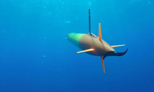 A marine microbes robot.